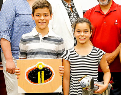 Summer Camp students thank Board of Education