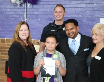 Peter Portillo Honored for Patrol Award